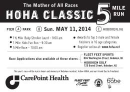 HOHA 5 mile race