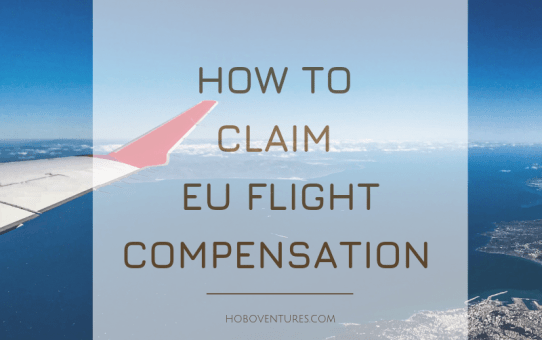 Europe Flight Delayed/Cancelled Compensation : How to claim the flight compensation