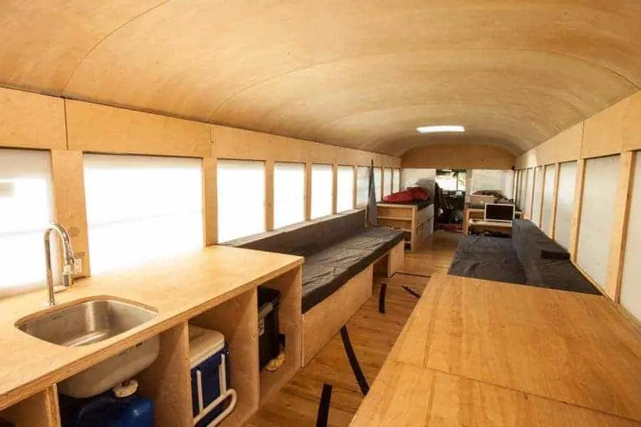 tiny house bus
