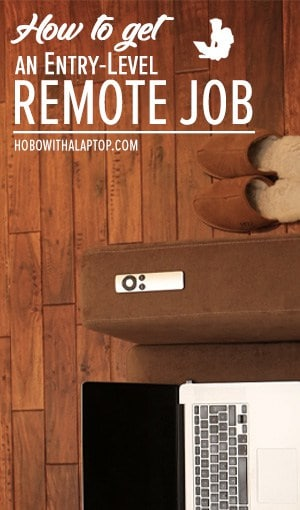 Where to find entry-level remote jobs!