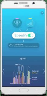 Speed up internet VPN