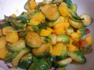 butternut squash and brussels