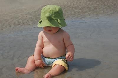 beach baby turtle hat