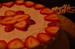 gluten-free strawbery cake