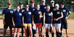 softball intramural team