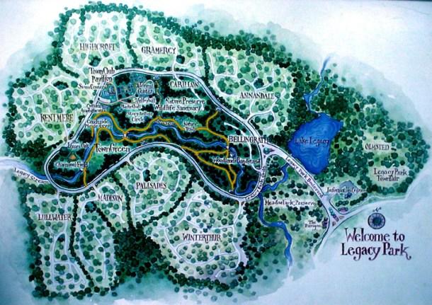 Legacy Park Map