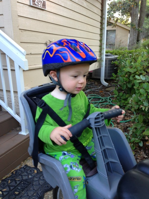 toddler bike ride