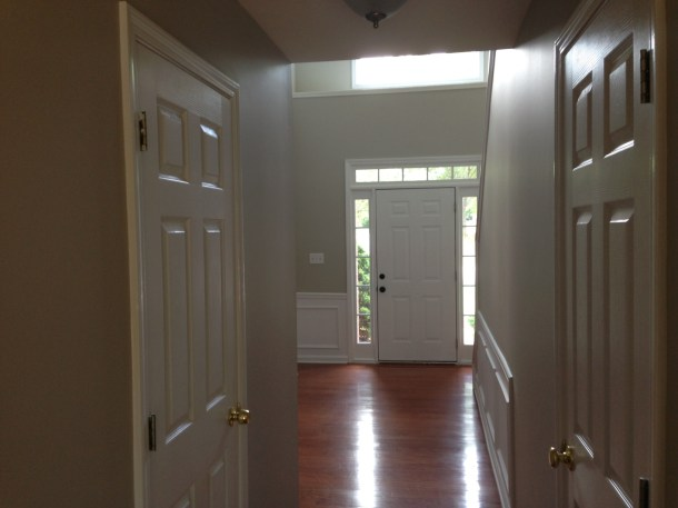 painted entryway
