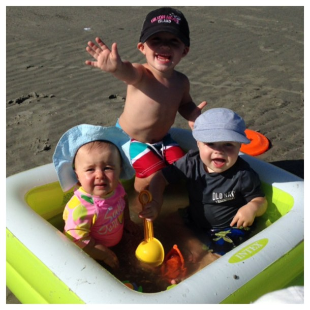 cousins at beach