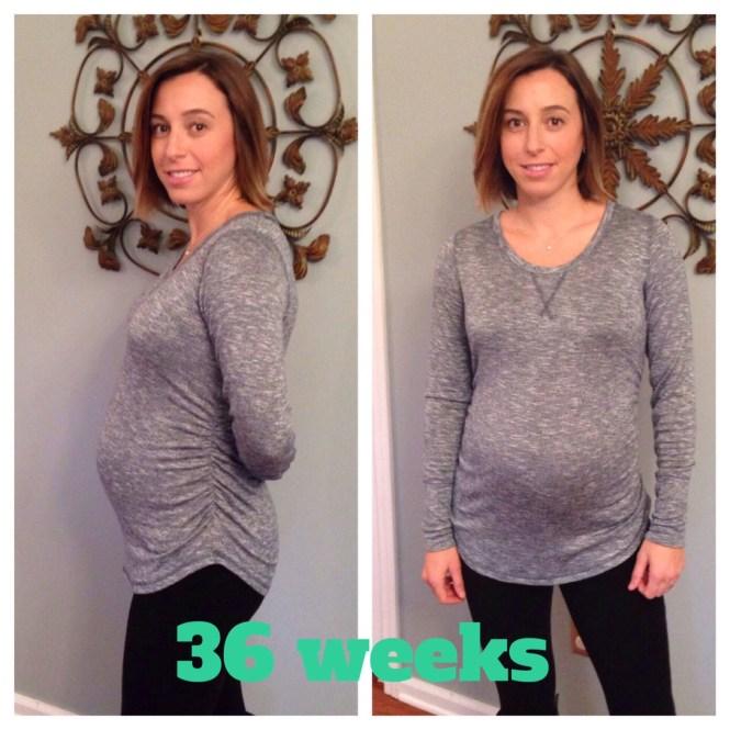 36 week bump
