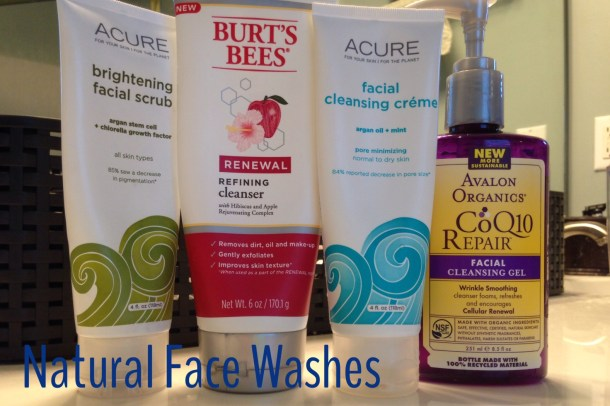 natural face washes