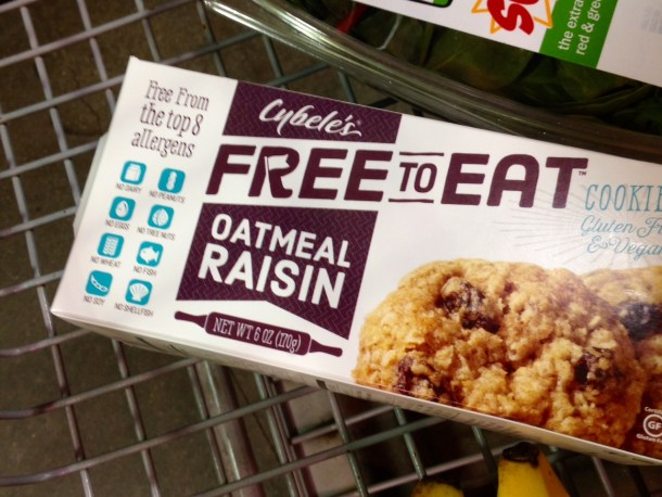 cybele's free to eat cookies