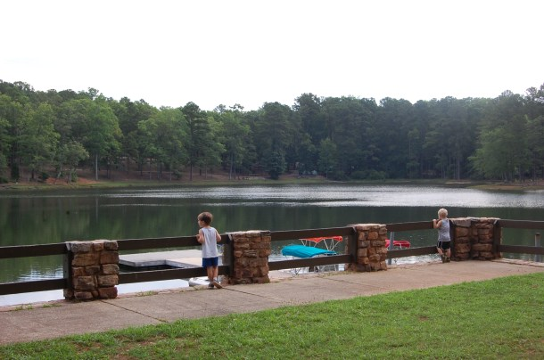 FDR state Park lake