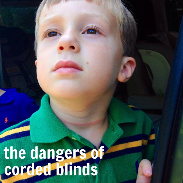 dangers of corded blinds