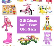 Gift Ideas for 2 year old girls