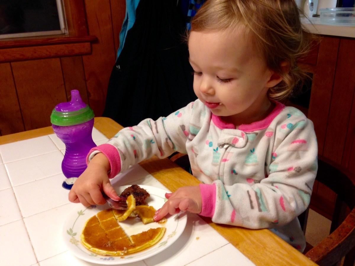 Three-Ingredient Blender Pancakes [Gluten-Free, Nutrient-Dense]