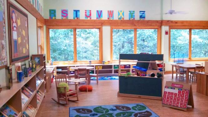 Elachee preschool classroom
