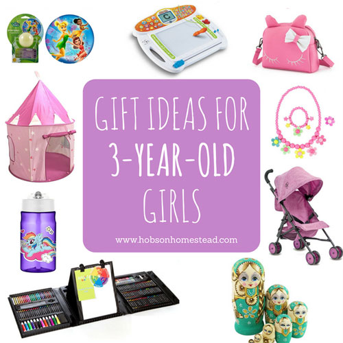 15 Gift Ideas for 3-Year-Old Girls