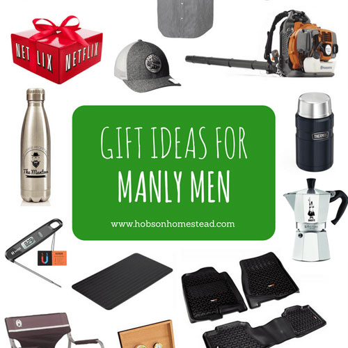 15 Gift Ideas for Manly Men