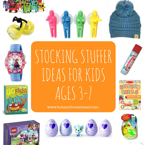 15 Stocking Stuffer Ideas for Kids Ages 3-7