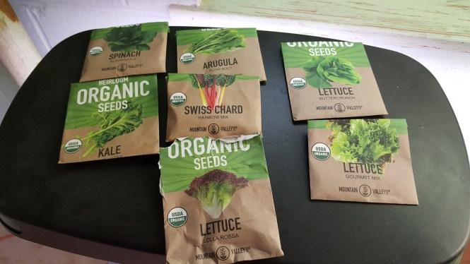 organic hydroponics seeds
