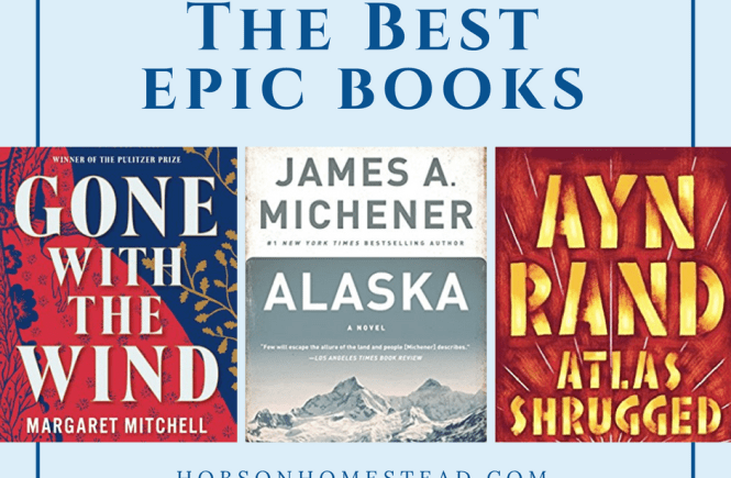 best epic books