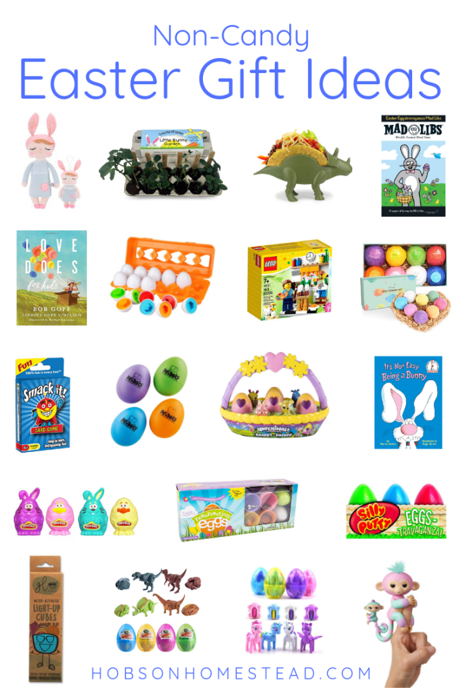 Non-Candy Ideas for Easter Gifts