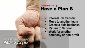 """Workplace Bullying Tip 