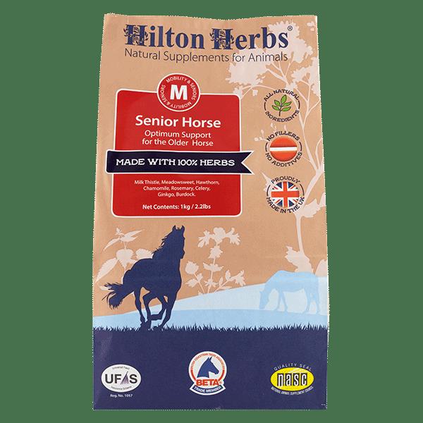 Senior Horse söödalisand eakale hobusele