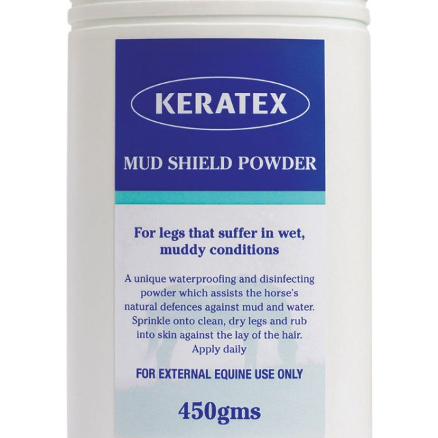 Keratex Mud Shield powder, mudavastane pulber
