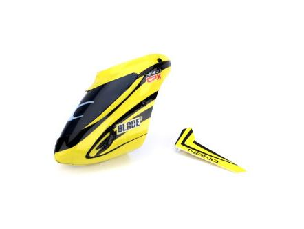 Complete Yellow Canopy with Vertical Fin
