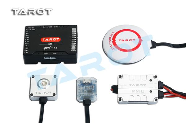 Tarot ZYX-M Multi rotor flight control