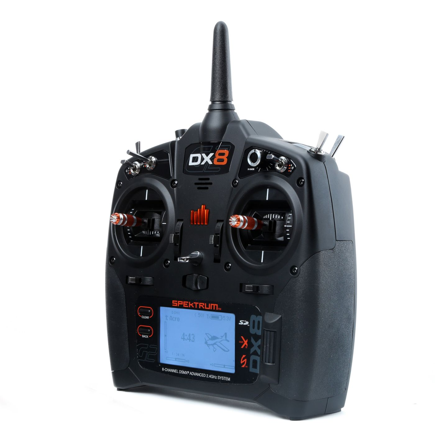 DX8 Gen 2 DSMX 8-Channel Transmitter with AR8010 Receiver