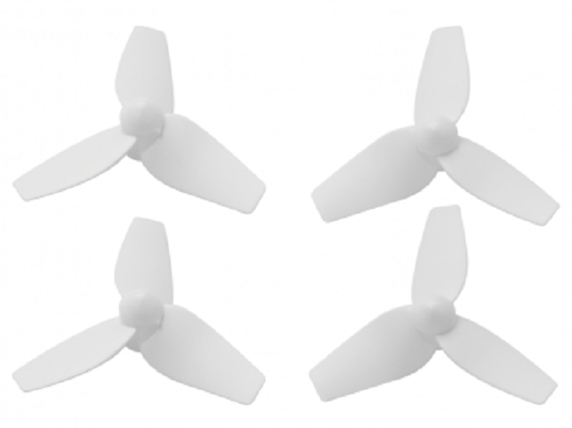 40mm 3 Blade Propeller (2CW+2CCW; 1mm Shaft; 7mm Motor)