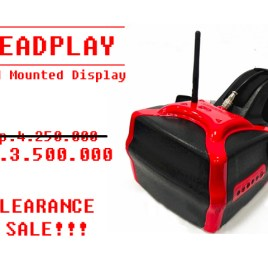 HeadplayHD Head mounted 7´ display