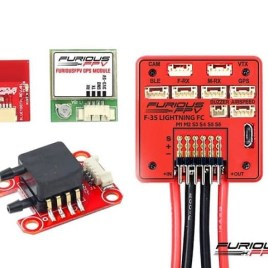 FuriousFPV F-35 Lightning Flight Controller Full Option (Horizontal)