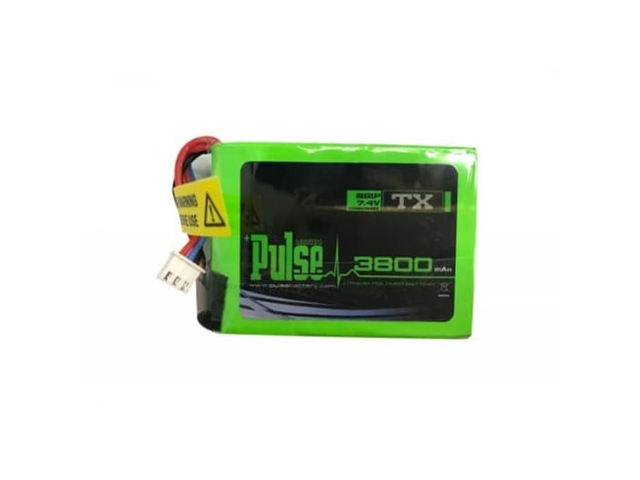 Lipo Battery Pulse 3800mAh 2S 7,4V for Transmitter (QX7)