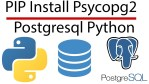python psycopg2