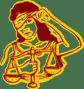 Justizia ist nicht blind