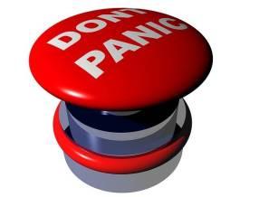 Keine Panik - bewusst handeln. Auch so kann man den eigenen Anteil erkennen.