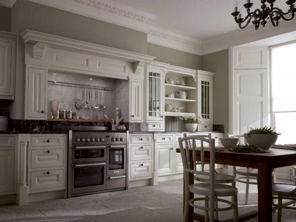 классический стиль в кухне фото