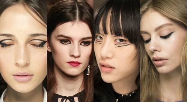 модный макияж осень 2016