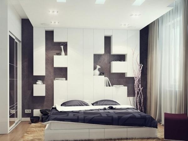 спальня в стиле хай тек фото