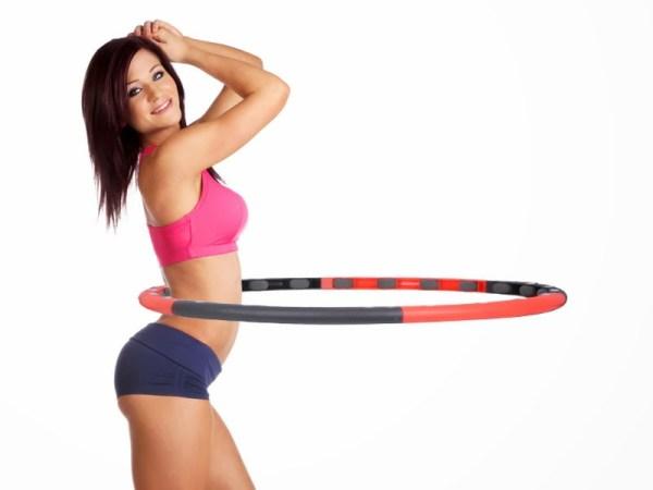 упражнения для похудения обруч