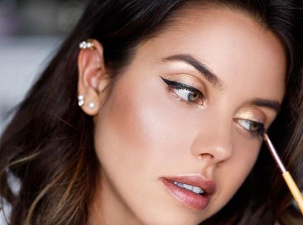 бронзовый макияж