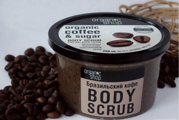 кофейный скраб органик шоп