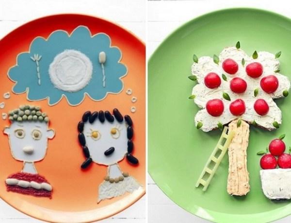 Норвежская художница создает картины из еды. Самые аппетитные ФОТО