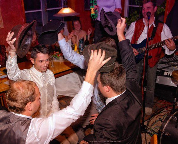 Tanzen bei Hochzeitsfeier