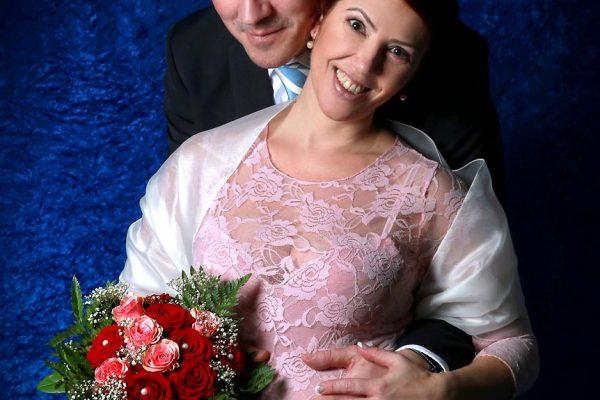 Hochzeitsfoto im Fotostudio Wagner