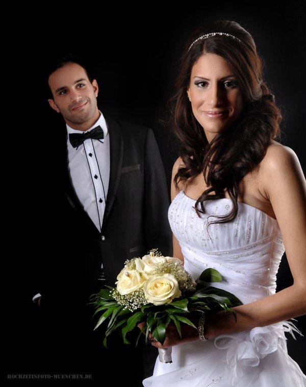 Fotostudio 6: Brautpaar Fotoshooting im Fotostudio Wagner